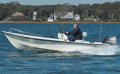 2017 May-Craft 1700 Skiff