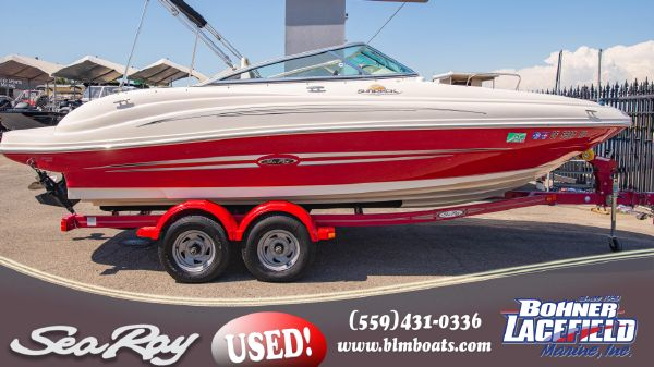 Sea Ray Sun Deck 200