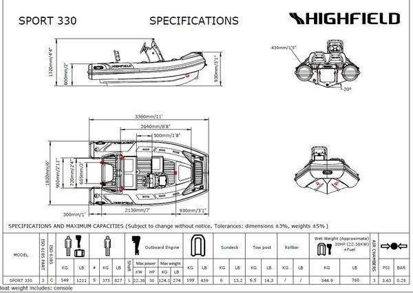Highfield Sport 330 image