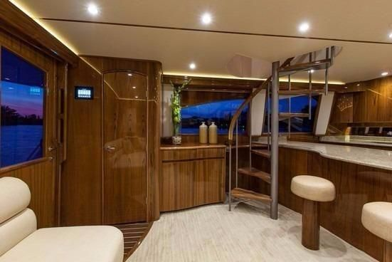 Viking 66 Enclosed Bridge image