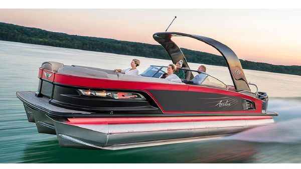 Avalon Excalibur Quad Lounge Windshield - 27'