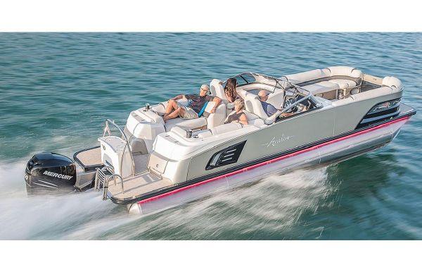 2018 Avalon Excalibur Rear Lounge Windshield - 27'