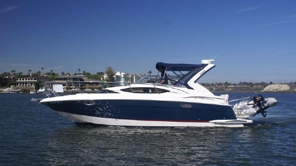 Regal 3060 Express Cruiser Port View On The Water