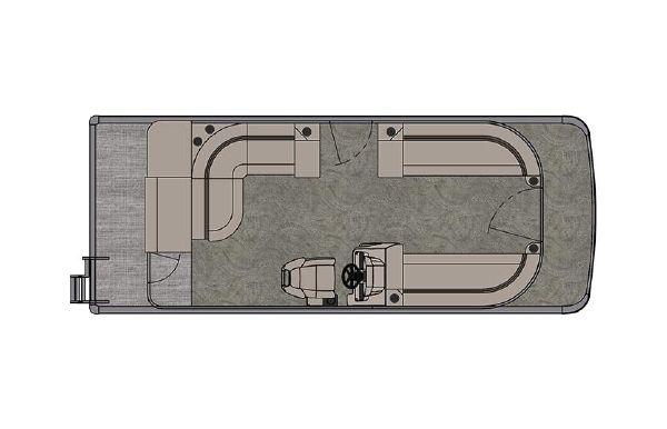 2021 Tahoe Pontoon GT Cruise 23'