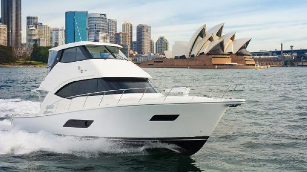 Riviera ENCLOSED FLYBRIDGE-IN STOCK!