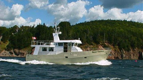 SuperPort Marine Services Smart Trawler 52 Profile Starboard