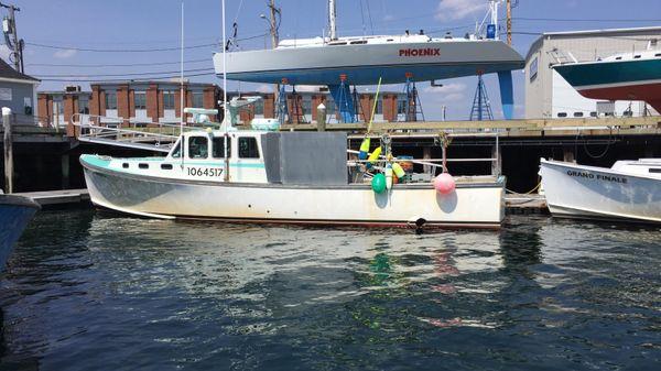 Wesmac Lobster Fishing Boat