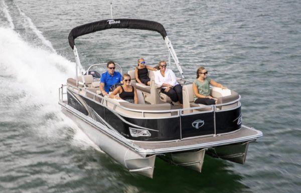 2021 Tahoe Pontoon GT Quad Lounger 23'