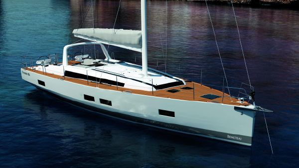 Beneteau Oceanis 55 Manufacturer Provided Image