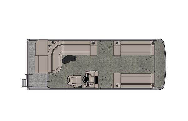 2021 Tahoe Pontoon Sport Cruise 22'
