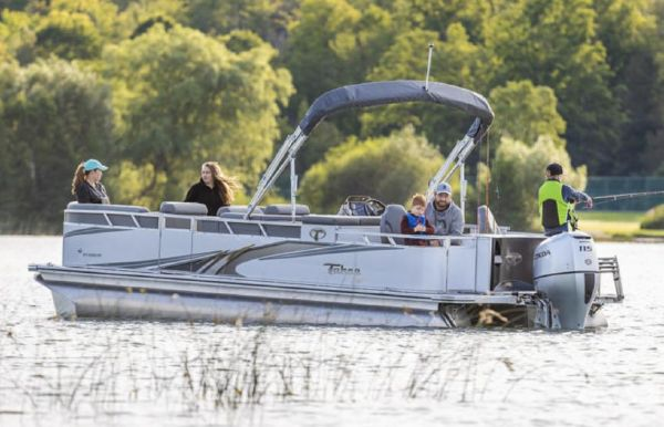 2021 Tahoe Pontoon GT Quad Fish 23'