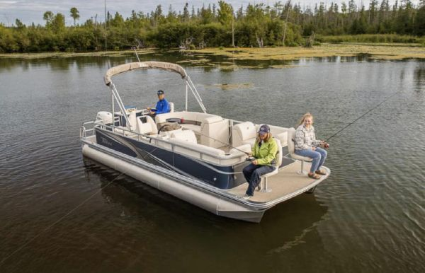 2021 Tahoe Pontoon Sport Fish N Cruise 22'