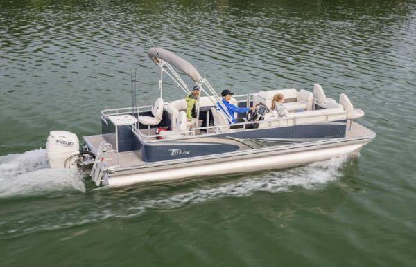 2021 Tahoe Pontoon Sport Fish N Cruise 20'