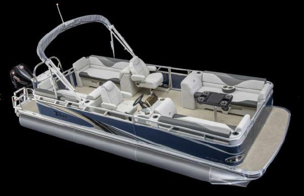 2021 Tahoe Pontoon Sport Quad Lounger 22'
