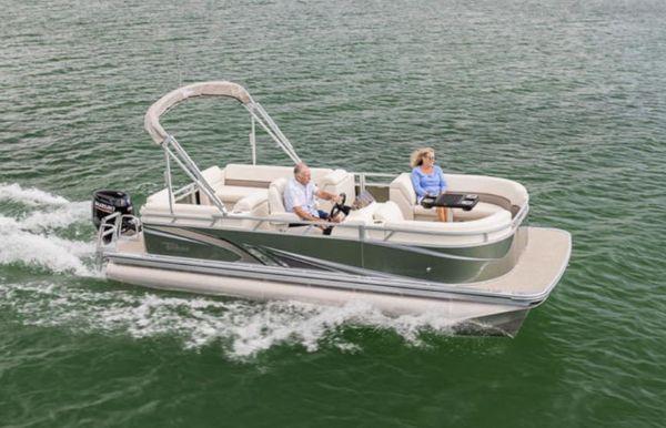 2021 Tahoe Pontoon SLT Quad Lounger 18'