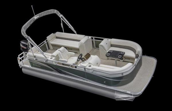 2021 Tahoe Pontoon SLT Quad Lounger 20'