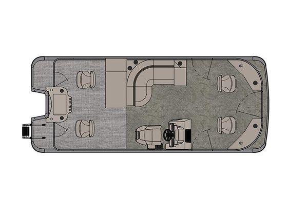 2021 Tahoe Pontoon GT Quad Fish 21'