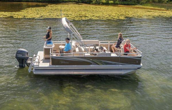 2021 Tahoe Pontoon STX Quad Fish 18'