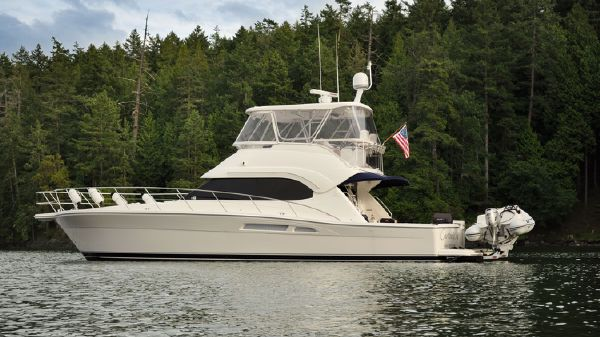 Riviera 47 Open Flybridge Series II Port profile