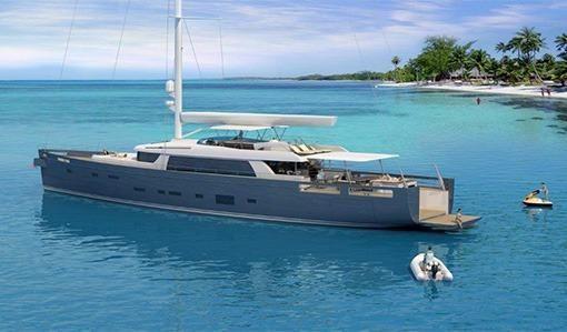 by Yacht Marine Custom Sail Yacht Extreme