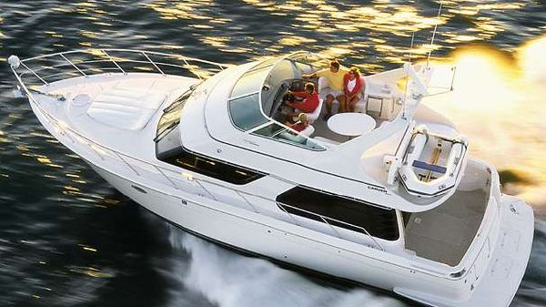 Carver 450 Voyager Pilothouse