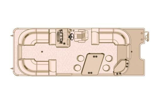 2018 Sylvan Mirage Cruise 8524 LZ PB LE