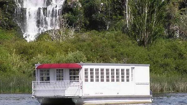 Pontoon Catamaran Tour Boat