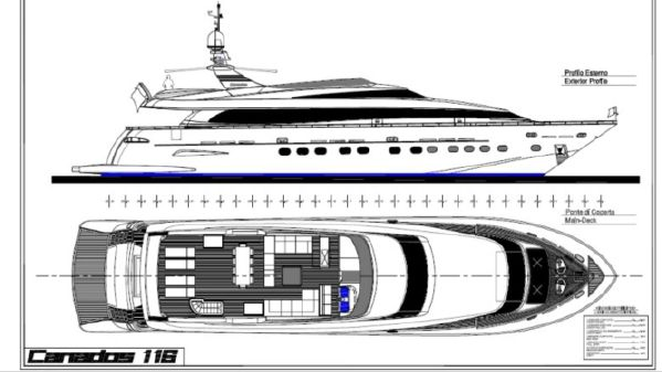 Canados Fast Motor Yacht image