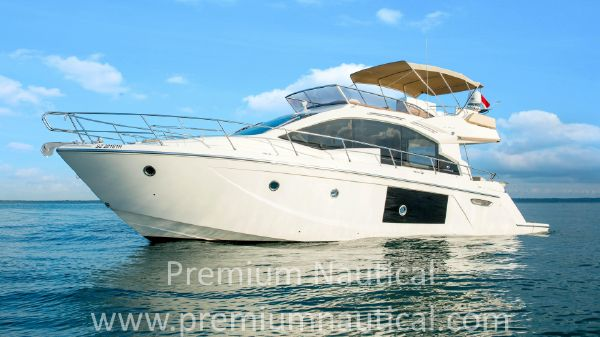Cranchi 54 FLY Port Side - Actual Boat