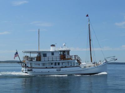 1928 Custom<span>COASTAL QUEEN Oyster Buy Boat</span>