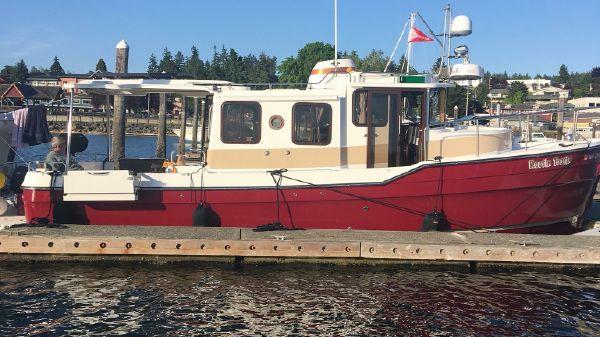 Ranger Tugs R-31S Profile at Dock