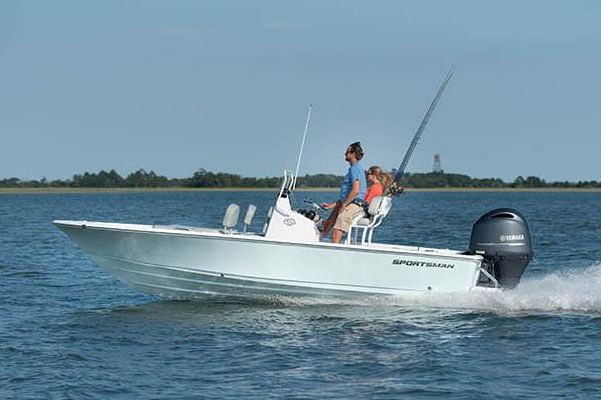Sportsman Masters 207 Bay Boat - main image