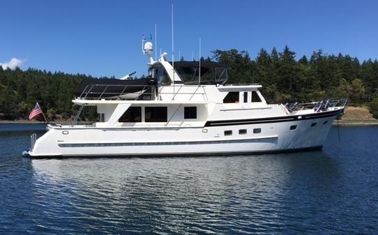 Grand Alaskan Raised Pilothouse Motoryacht