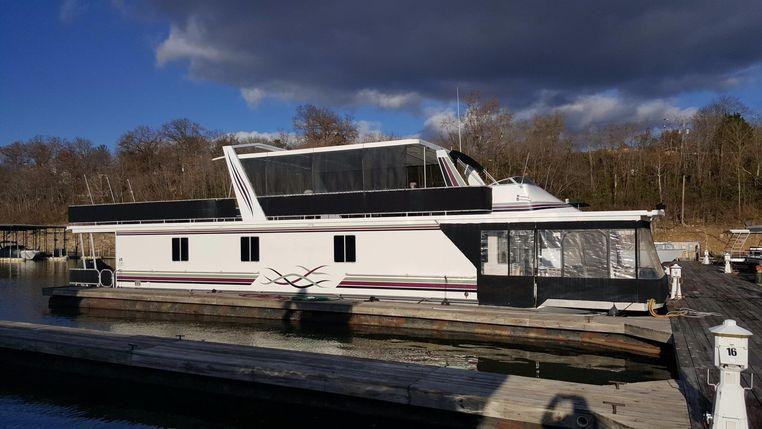 1999 Sharpe Houseboat 18 X 74 Widebody Houseboat