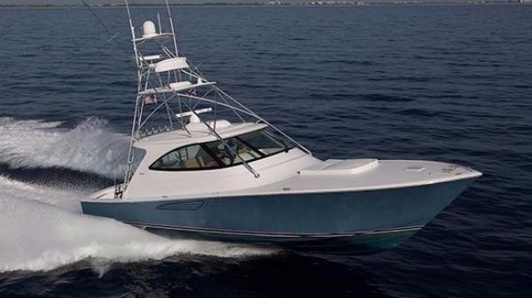 Viking 52 Sport Tower Starboard Side