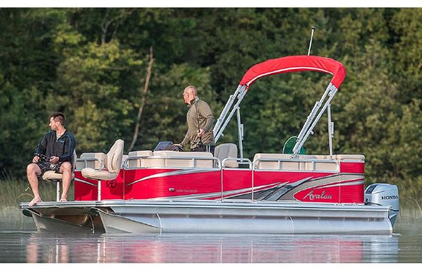 2018 Avalon Venture Cruise Bow Fish - 20'