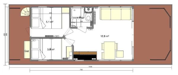 Waterlodge THREE Floating Studio Apartment image