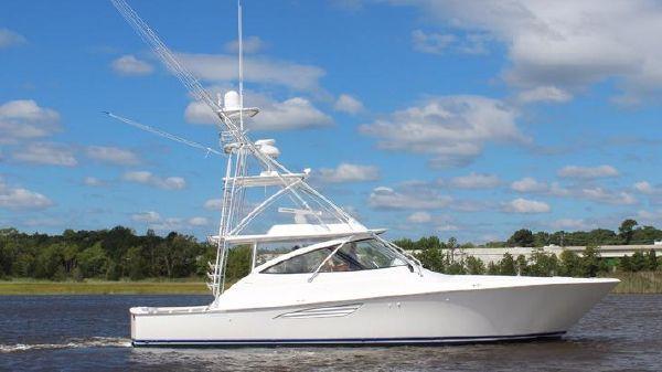 Viking 48 Open Starboard Side