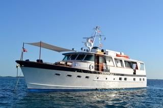 Burger 68 Motor Yacht Flush Deck