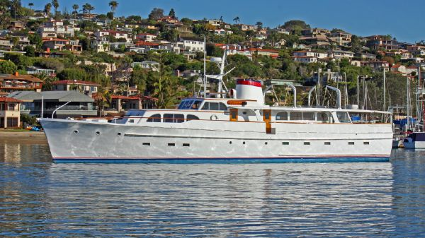 Broward 96' Motor Yacht 1957 Hull#1