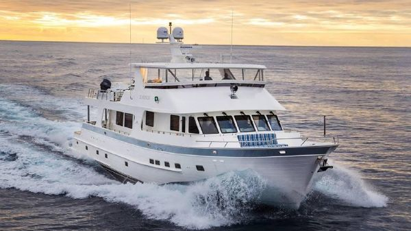 Outer Reef Yachts Pilothouse