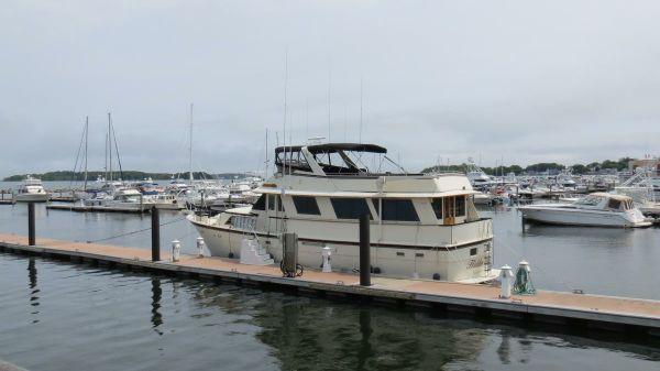Hatteras 61 Motor Yacht Stabilized