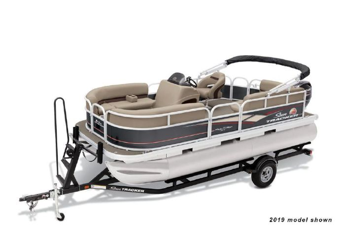 2020 Sun Tracker Party Barge 18 DLX Lake Hopatcong, New