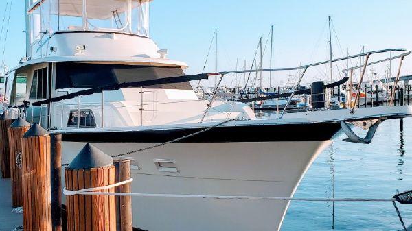 Hatteras Yacht Fisher
