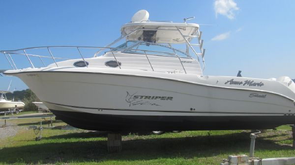 Striper 2901 Walk Around O/B (Dual Engine)