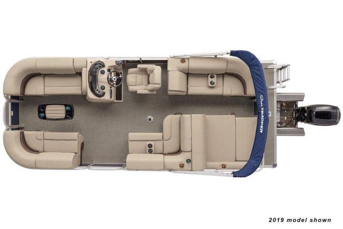 2020 Sun Tracker Party Barge 22 RF XP3 Hern Marine