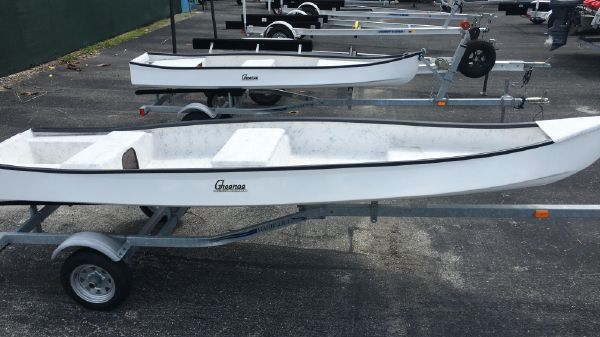 Gheenoe 15'6 CLASSIC With 15HP Electric Start & Trailer