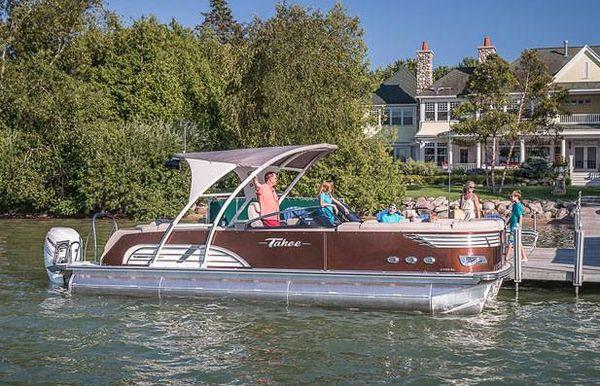 2018 Tahoe Pontoon Vision Elite Windshield - 27'