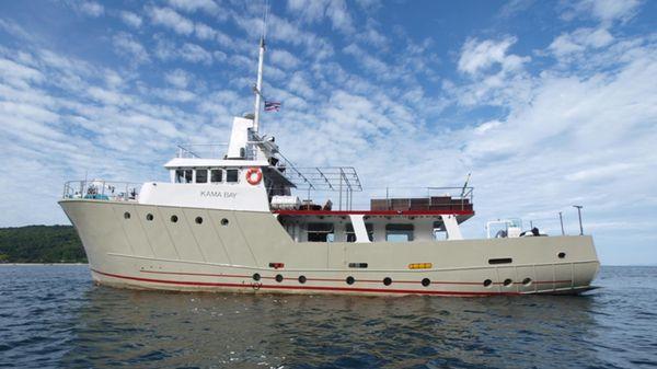 Richard Lowestoft, United Kingdom Expedition Motor Yacht