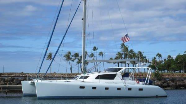 ERIK LEROUGE / BRAZAPI Custom Catamaran